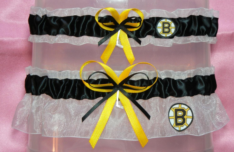 6f59ea2c0e7 Boston Bruins Garter Set NHL Hockey. From narfer99