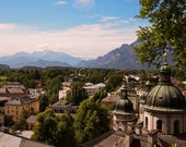 City View of Salzburg, Austria  8x10 Print- Travel Photography - aroundin80frames
