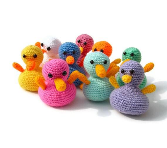 Duck Amigurumi Tutorial - Crochet for Beginners - Part 1 - YouTube | 507x570