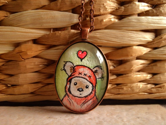 ewok necklace etsy