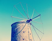 Antique Mill - Beautiful Datca -  8x10 Fine Art Photography (20x25cm) - ColorfulPixelsByLife