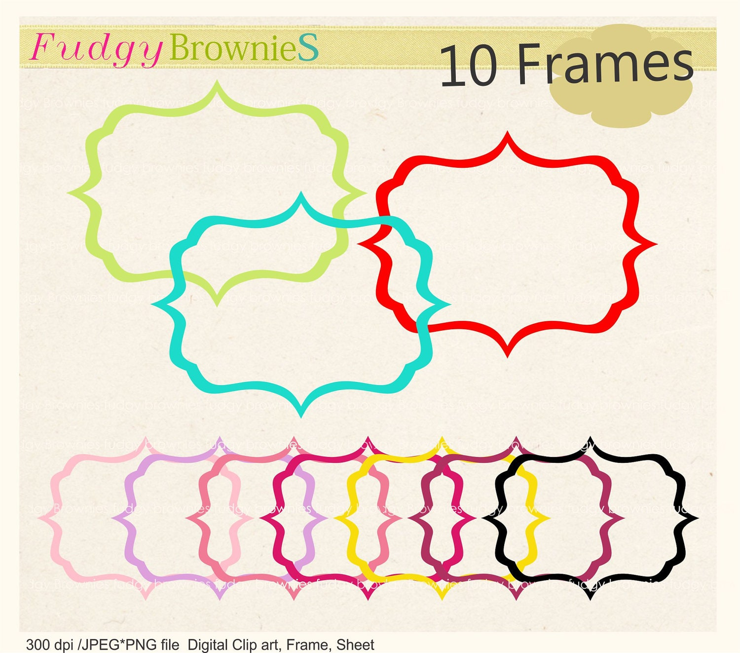 Glasses Frame Outline : Picture Frames Outline