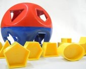 Tupperware Shape Sorter. Form Fitter - LillysLuckyPenny
