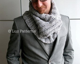 Crochet Scarf Pattern Male :  CROCHET PATTERN MEN S SCARF