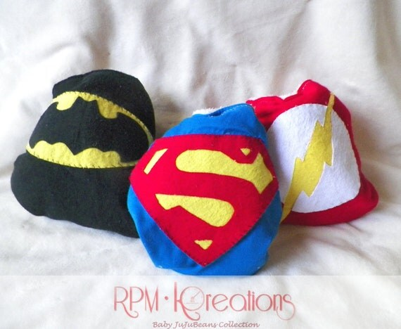 Superhero OS AIO Pocket Cloth Diaper Set Batman Flash Superman Set