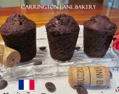 Bouchons (French Chocolate Corks) 1 Dozen 1-1/2 X 2-1/2 inchs - CarringtonLaneBakery