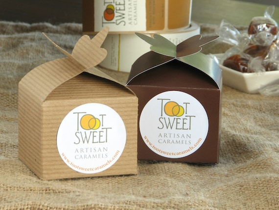 Caramel Favor Box