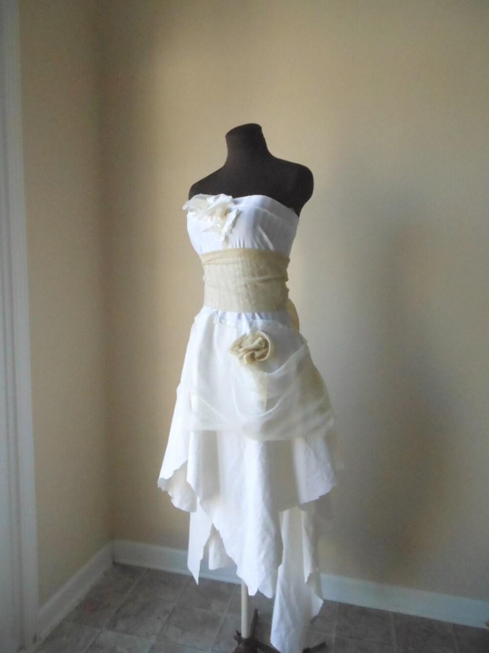b1d650c140c Steampunk short dress rustic