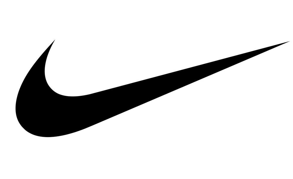 Nike logo or nike swoosh free coloring pages for Nike swoosh template