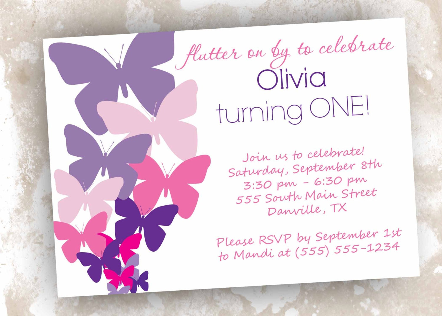 40th Birthday Ideas Free Printable Butterfly Birthday Invitation – Free Printable 18th Birthday Invitations