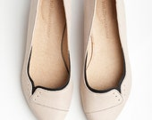 Ninna flats in Sand color - natalievetamar