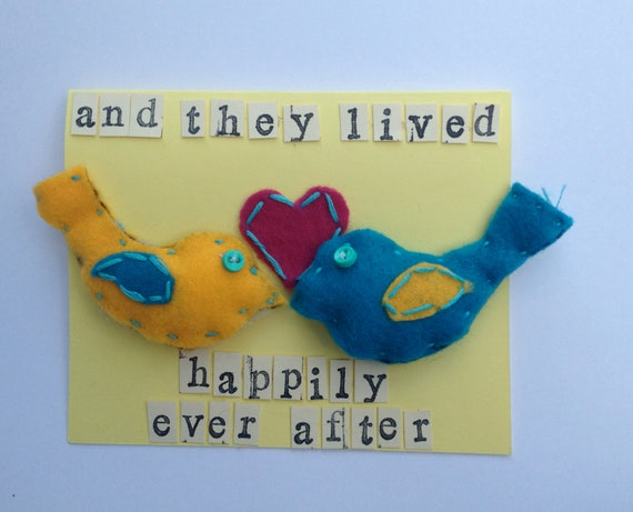 And They Lived Happily Ever After - greeting card