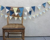 Beachside Wedding Pennant Banner Bunting Set - cocosailore