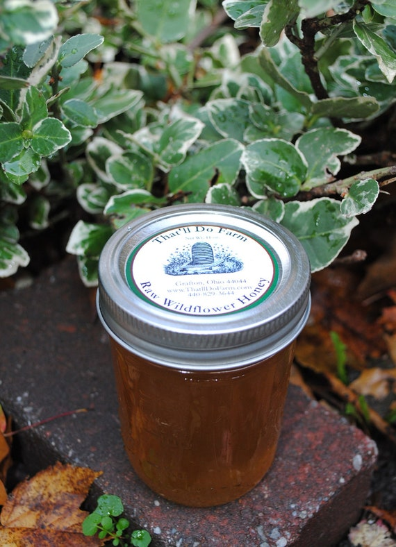 Raw Wildflower Honey fresh from the farm