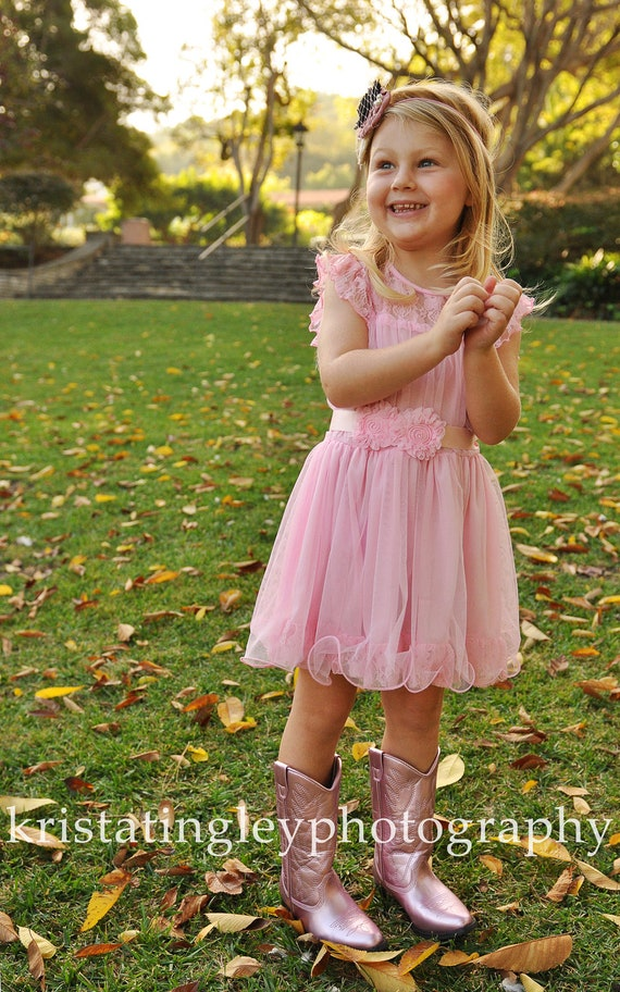 The Olivia PINK Flower Girl Lace Dress, made for girls, toddlers, infants, ages 2T,3T,4T,5T