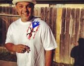 Puerto Rico Coqui Flag T-shirt. Men - VakanitaDom
