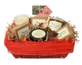 JenSan Organic 6-Piece Aromatherapy Gift  Basket, FREE SHIPPING