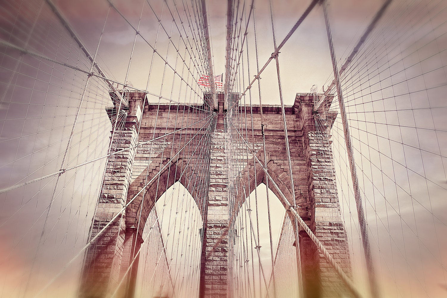 Brooklyn Bridge New York NYC Instant by ekaterinahashbarger