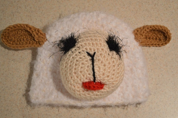 Little Lamb Hat (All sizes)