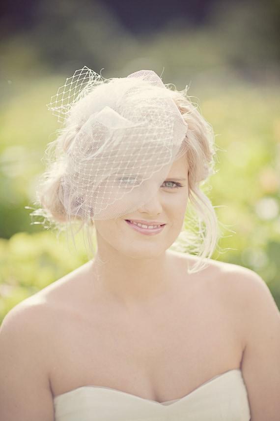 Bethany Blusher veil
