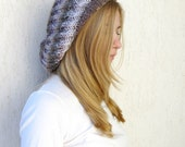 Knit Slouchy Beanie Hat / Multicolored Slouch Tam Hat / Women Teens Kids / Europeanstreetteam - LikeFreja