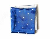 Stars and Clouds Silky Pocket Square Accessory for Men from the Paul McCall Line for Men - EWMcCall