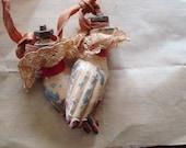 Unusual Rare Antique pair of metal doll hands - SaffronColoredPony