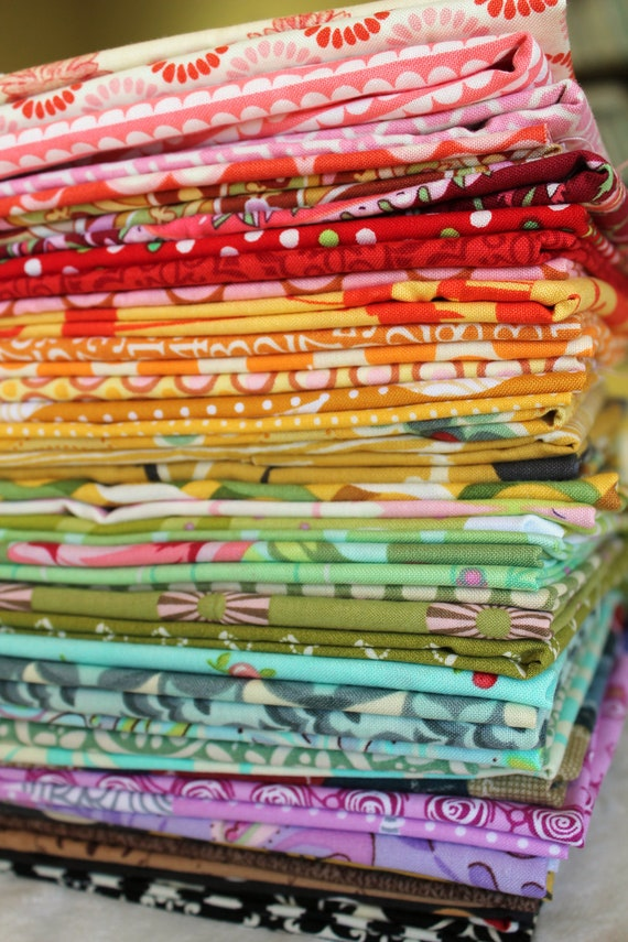 Rainbow Scrap Bag Scraps-- Scrap Bag Quilt Fabric
