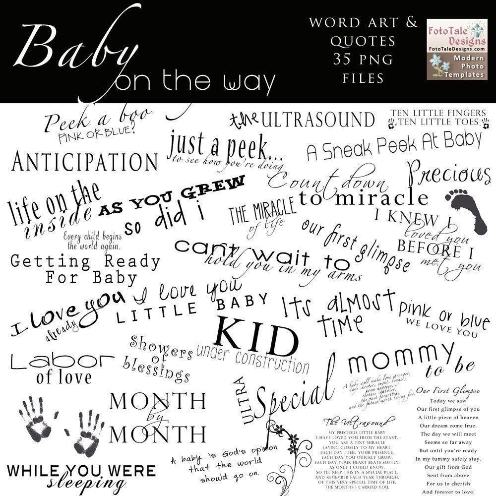 baby quotes for scrapbooking - photo #11