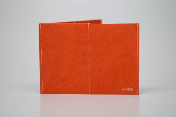 SlimFold Tyvek Wallet (Orange)