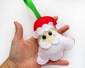 Santa Claus Felt Ornameny, Christmas Ornament