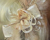Wedding WonDer Hair Fascinator Barrette - WildMountainWreaths