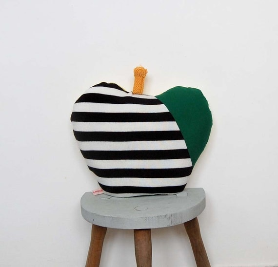 Handmade Apple Cushion Pillow