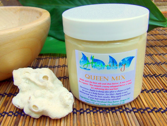 Whipped Shea Butter - Queen Mix (4oz)
