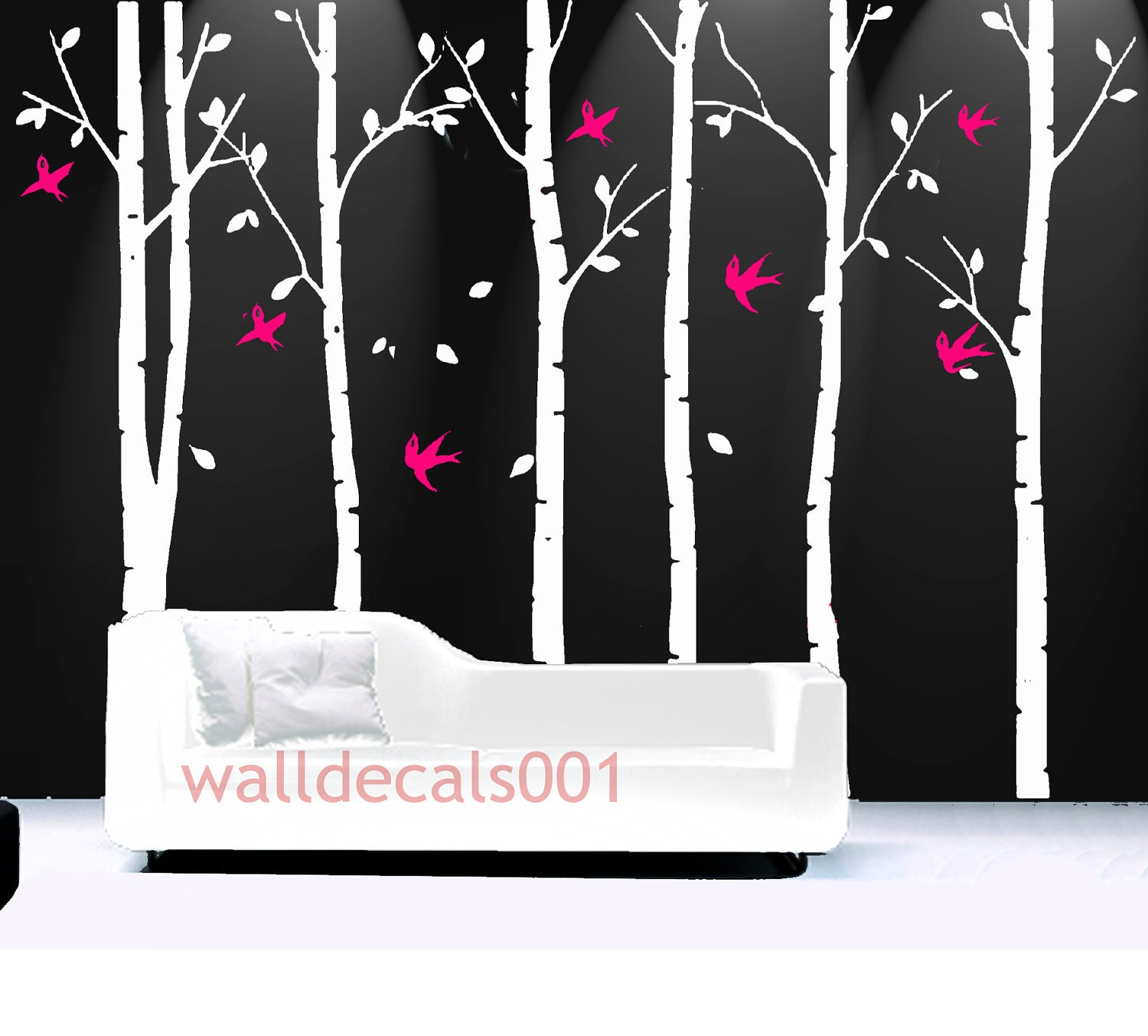 Tree Wall Decals wall Stickers wall by walldecals001 on Etsy