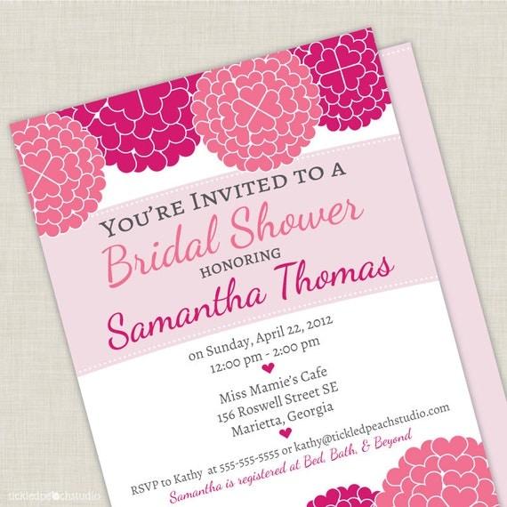 Cute Wedding Invite Wording: Bridal Shower Invitations: Cute Sayings On Bridal Shower