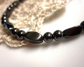 Magnetic Anklet - High Power Hematite