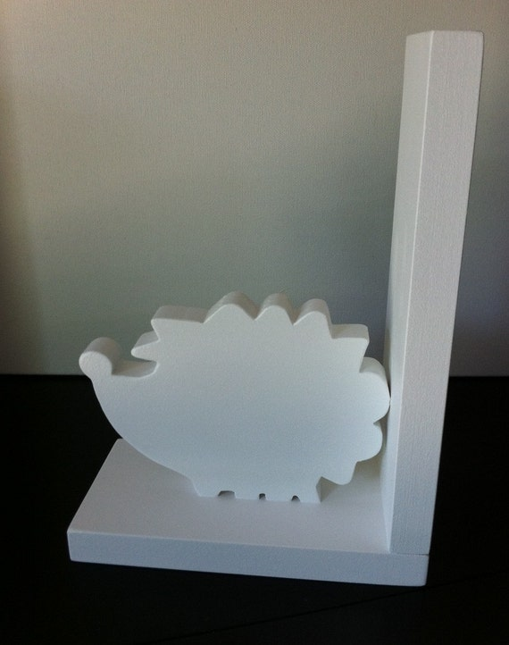 Hedgehog Bookend - Price is for one bookend - Choose your colors