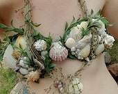 Custom Mermaid Seashell Top