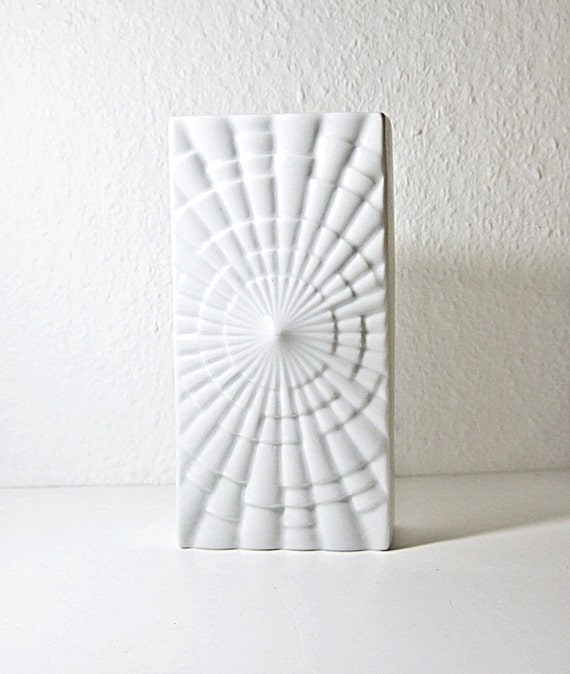 Mid Century German great  Op Art Vase