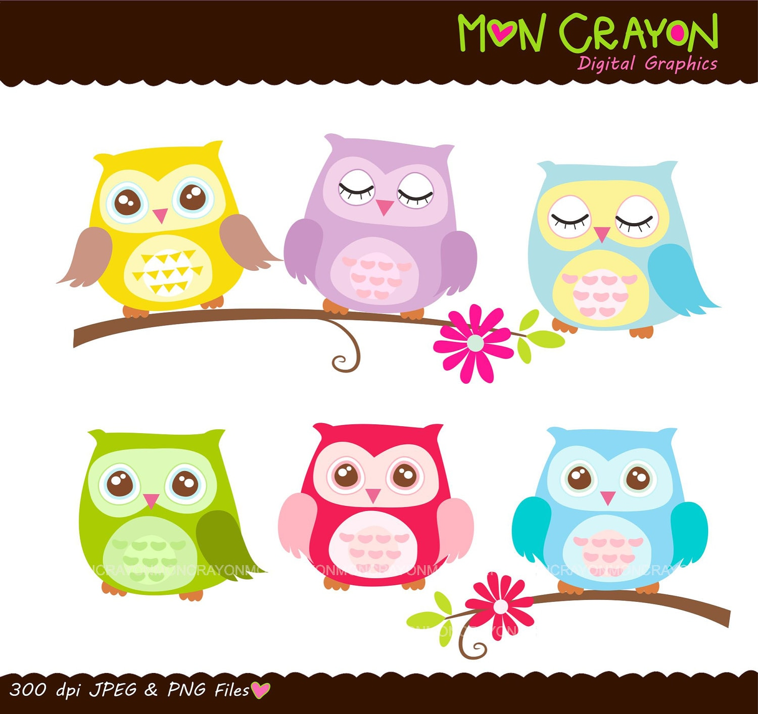 Birthday Owl Clipart