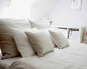 Linen bedding( 100%  Linen ) Natural, Queen size - MoodsStore