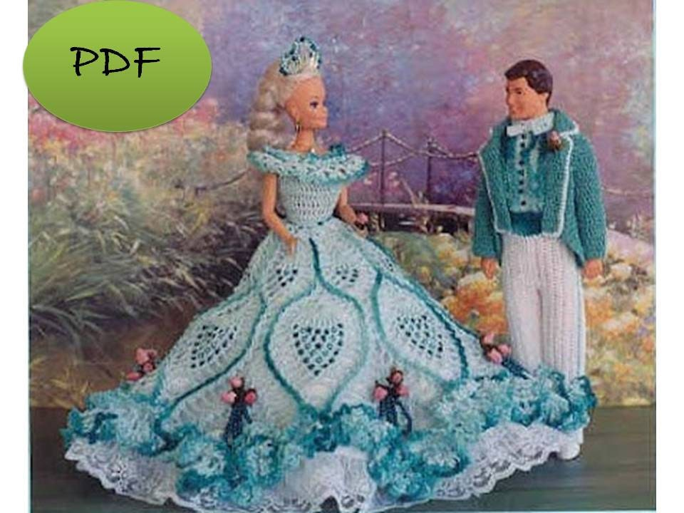 Unique Barbie Doll Dress Crochet Patterns Patterns Kid
