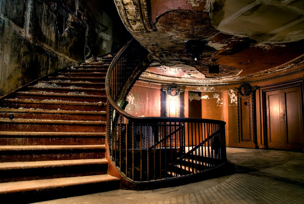 Abandoned Movie Palace A Passion For Palaces