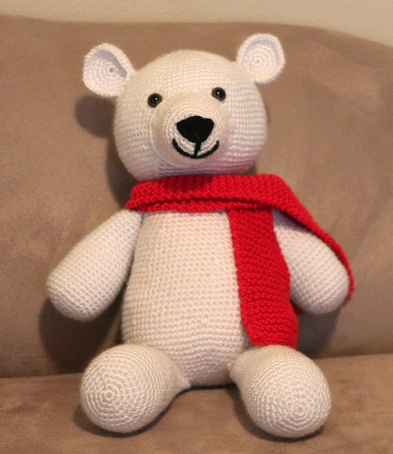 Shaun the Polar Bear Amigurumi Crochet Pattern