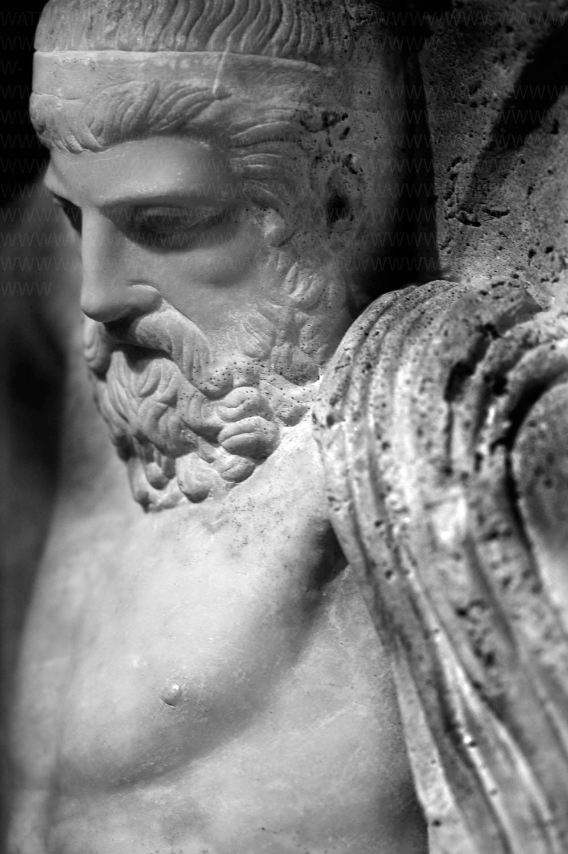 Nude - Male - Roman - Greek - Classical - Figural - Architectural - B