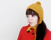 Retro Aviator Ear Flap Hat