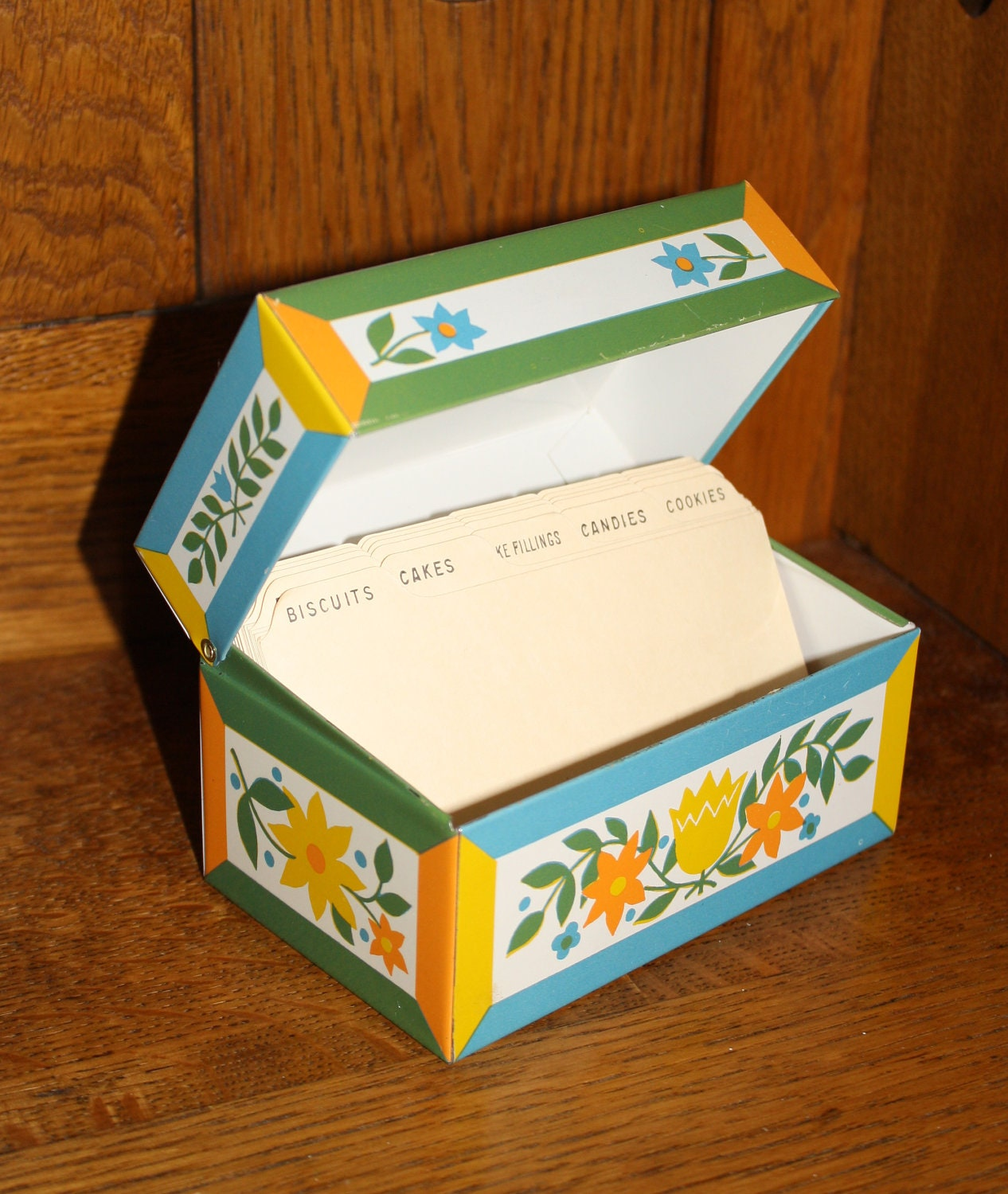 Opinion you Vintage recipe boxes topic