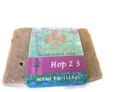 Irish Dance Gift - HOP 2 3 SOAP - handcrafted, lavender, cold process soap with homegrown hops Just for Irish Dancers