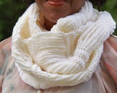 Crochet Chains Infinity Scarf Pattern-